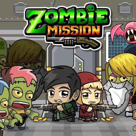 Игра Миссия Зомби на Двоих - Играть Онлайн!