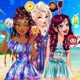 Игра Принцессы Диснея: Летние Прически