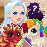 Игра Магазин Кристал: Магические Питомцы