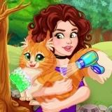 Игра Оливия Взяла Кошку