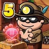 Игра Воришка Боб 5: Приключения в Храме