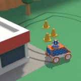Игра Веселый Заезд на Машинке