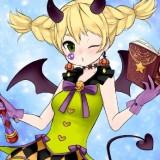 Игра Аниме: Чародейка на Хэллоуин