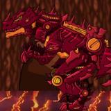 Игра Роботы Динозавры: Огненный Тираннозавр