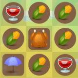 Игра День Благодарения: Три в Ряд