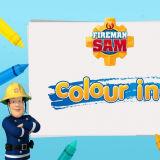 Игра Пожарный Сэм: Раскраска