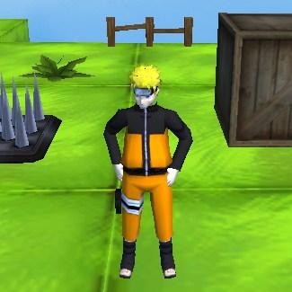 Наруто Бродилка 3Д - Скриншот