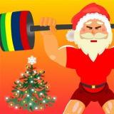 Игра Санта Клаус Тяжелоатлет