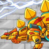 Игра Роботы Динозавры: Золотой Стегозавр