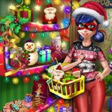 Игра Леди Баг: Рождественский Шоппинг