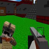 Игра Блочные Стрелялки 3Д: Мультиплеерные Войны