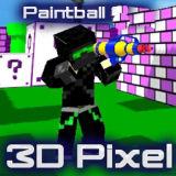 Игра Пиксель Пейнтбол 3Д Мультиплеер
