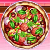 Игра Готовим Домашнюю Пиццу