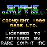 Игра Snake Rattle n Roll