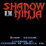 Игра Shadow of the Ninja
