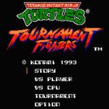 Игра Mutant Ninja Turtles: Tournament Fighters