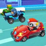 Игра Счастливые Супергеройские Гонки – Трансформировать Автомобиль