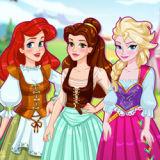 Игра Принцессы Диснея: Средневековая Ярмарка Моды