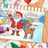 Игра Раскрась Меня: Рождество