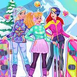 Игра Принцессы: Зимние Виды Спорта