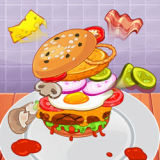 Игра Самый Большой Гамбургер Челлендж