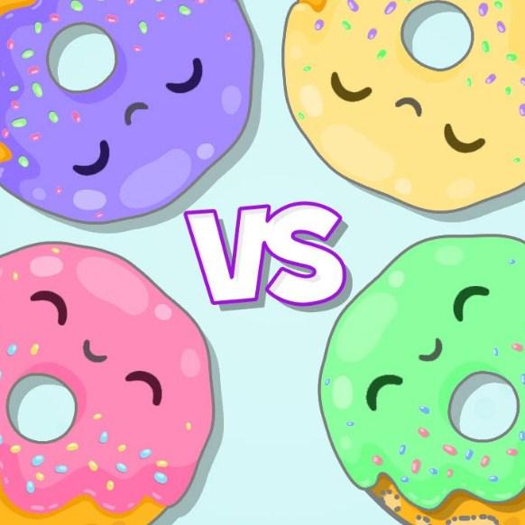 Игра Пончик Против Пончика - Играть Онлайн!