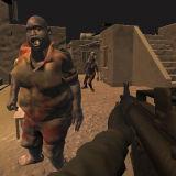 Игра Стрелялки с Зомби в Пустыне
