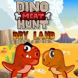 Игра Охота Динозавров за Мясом: Засушливые Земли