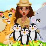 Игра Моана: Милый Зоопарк