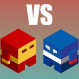 Игра Красный VS Синий