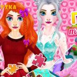 Игра Пазлы: Такие Разные Принцессы