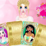 Игра Прекрасные Принцессы: Найди Пару