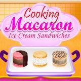 Игра Готовим Сэндвичи С Макарунами и Мороженым