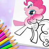 Игра Милые Пони: Раскраска
