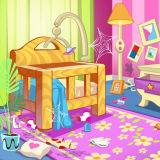 Игра Уборка Кукольного Домика