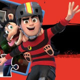 Игра Dennis & Gnasher Unleashed: Делай Ноги!