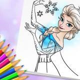 Игра Удивительная Принцесса: Раскраска