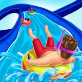 Игра Скользкие Водные Горки Аквапарка.ио
