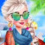 Игра Принцессы Эренделла: Зимняя Прогулка