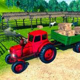 Игра Трактор на Ферме: Симулятор Перевозок