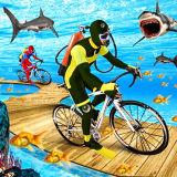 Игра Приключения под Водой на Велосипеде
