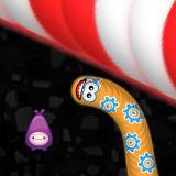 Игра Червячная Зона: Скользкая Змея