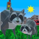 Игра Приключения Енота: Городской Симулятор 3Д