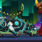 Игра Робот-Полицейский: Железная Пантера