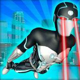 Игра Летающий Супергерой Мститель в Большом Городе