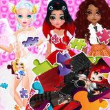 Игра Пазлы: Принцессы и ангелы новый образ