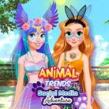 Игра Социальные Сети: Животные Тренды