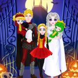Игра Принцессы: Семейные Хэллоуинские Костюмы