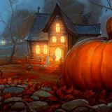 Игра Пазлы в Стиле Хэллоуина
