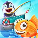 Игра Глубоководная Рыбалка Пингвинчика